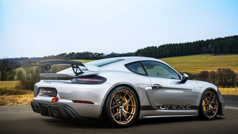 Manthey macht den Porsche 718 GT4 extra Racy